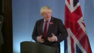 British Foreign Minister Boris Johnson says the High Court ruling on Brexit will not interfere with the timetable for leaving the EU and that the...