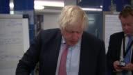 British government criticised for slow response to Hurricane Irma ENGLAND London Foreign Office INT Various of Boris Johnson MP and others on a...