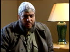 British hostage negotiations Britons held for terrorism ITN London Sheik Abu Hamza interview SOT Talks of his role in Supporters of Sharia and with...