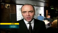 interview James Nesbitt ENGLAND London Hammersmith Palais INT James Nesbitt LIVE 2WAY interview SOT I love the awards because I've won one before /...