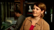 British Library exhibits love letter from King Henry VIII to Anne Boleyn Dr Andrea Clarke interview SOT