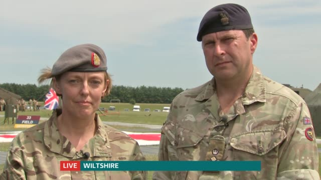 British medics who travelled to Sierra Leone to tackle the ebola crisis given Queen's Honours ENGLAND London GIR / Wiltshire INT / EXT LIVE 2WAY...