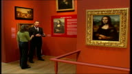 British Mona Lisa painting goes on display Ian DeJardin interview SOT Discusses how the colours of the British fake portrait have survived better...