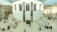 British Museum Great Hall Timelapse Vertical Pan down