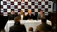 British Olympic boxers turn professional Warren press conference SOT All three fighters will always fight on same card DeGale press conference SOT...
