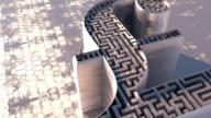 British Pound maze