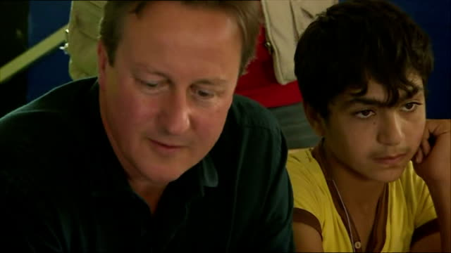 British Prime Minister David Cameron has visited a Lebanese refugee camp amid growing pressure on the UK to do more to help alleviate Europe's...