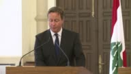 British Prime Minister David Cameron made a surprise visit to a Syrian refugee camp in Lebanon on Monday saying increased aid would help stem a major...
