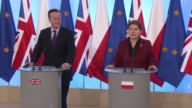 British Prime Minister David Cameron runs into Polish resistance to his plans to curb benefits to EU migrants as he launches two weeks of highstakes...