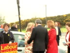 British Prime Minister Gordon Brown and his wife Sarah arrived on Thursday at North Queensferry Community Centre to cast their vote London Greater...