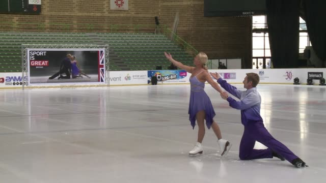 British skating legends Jayne Torvill and Christopher Dean returned Thursday to the ice rink where their performance of Maurice Ravel's Bolero...