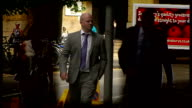 British Transport Police officer in court over dangerous driving after hitting a cyclist ENGLAND London Southwark Crown Court EXT Reporter to camera...