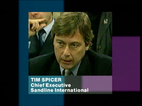 British troops held hostage ITN GRAPHIC Tim Spicer interviewed PHONO SOT Reaction to reports that the rebel leader has ordered his men to hand over...