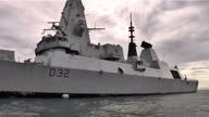 British warship HMS Daring has arrived in the Typhoon Haiyan disaster zone as the president of the Philippines visited devastated areas It has spent...