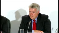 BritishIrish Council summit on energy policy and economic recovery press conference Carwyn Jones press conference SOT I will be making a statement...