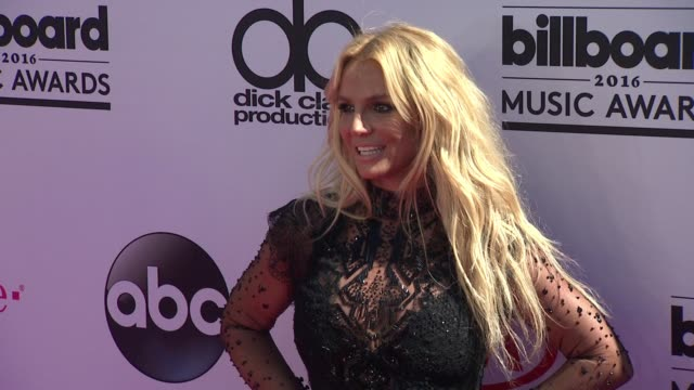 Britney Spears at 2016 Billboard Music Awards Arrivals at TMobile Arena on May 22 2016 in Las Vegas Nevada