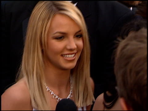 Britney Spears at the 2000 Grammy Awards arrivals at Staples Center in Los Angeles California on February 23 2000