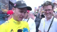 Briton Chris Froome secured his fourth Tour de France title at the end of the 21st and final stage won by Dylan Groenewegen on Sunday and said it was...