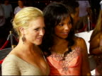 Brittany Snow and Ashanti at the 'John Tucker Must Die' Los Angeles Premiere at Grauman's Chinese Theatre in Hollywood California on July 25 2006