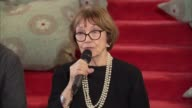 Broadcaster Joan Bakewell criticised for claiming eating disorders and anorexia is a sign of overindulgence in society ENGLAND London INT Baroness...