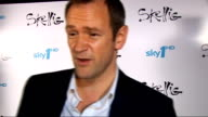 New television series 'Skellig' to be broadcast Alexander Armstrong interview SOT On his character sports teacher / On school and what sport he was...