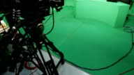 Rundfunk studio green-screen