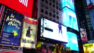 Broadway, Billboard Advertisements, Times Square