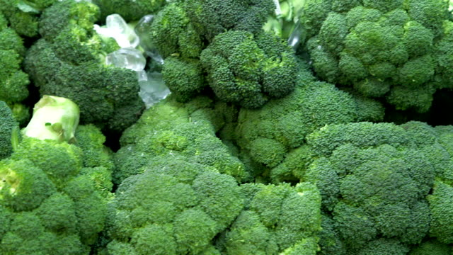 Broccoli in Grocery Store