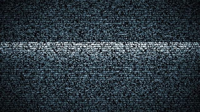 Rotto schermo Tv con audio