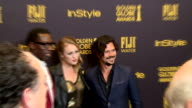 Broll footage of the Miss Golden Globe 2017 red carpet