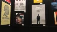 Broll of SXSW flatstock event posters