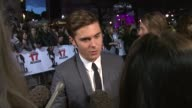 Zac Efron at the 17 Again Premiere at London