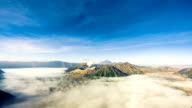 Bromo Vulcano in Java, Time Lapse Video HD