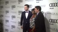 Bronson Green Octavia Spencer Steven Levitan at the Audi And Martin Katz Celebrate The 2012 Golden Globe Awards in West Hollywood CA