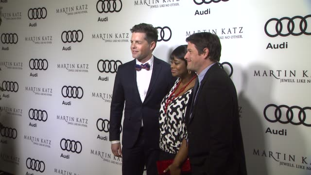 Bronson Green Octavia Spencer Steven Levitan at the Audi And Martin Katz Celebrate The 2012 Golden Globe Awards in West Hollywood CA