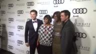 Bronson Green Octavia Spencer Viola Davis Tate Taylor at the Audi And Martin Katz Celebrate The 2012 Golden Globe Awards in West Hollywood CA