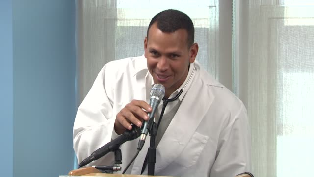 BronxLebanon Hospital Center Dedication Ceremony to Alex Rodriguez New York NY United States