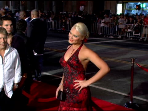 Brooke Hogan at the 'Get Rich or Die Tryin' World Premiere at Grauman's Chinese Theatre in Hollywood California on November 2 2005