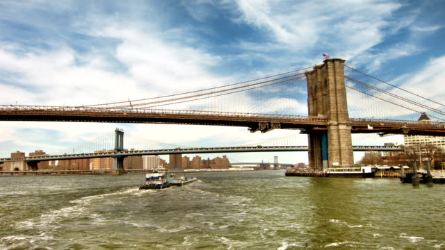 Brooklyn bridge and Manhattan bridge