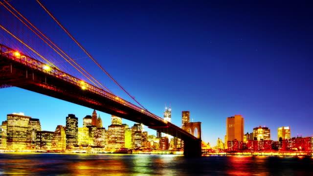 Brooklyn Bridge, New York City.