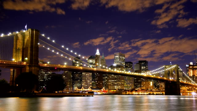Brooklyn Bridge New York Time Lapse