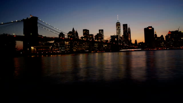 Brooklyn Bridge New York Time Lapse