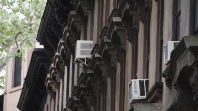 Brooklyn Brownstone entrance establishing shot - New York City
