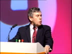 Brown outlines plans to get benefit claimants back to work Speech Gordon Brown invited to speak SOT Gordon Brown MP speech SOT Let me say first of...