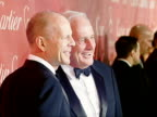 Bruce Willis Jerry Weintraub at the 2008 Palm Springs International Film Festival Hosts StarStudded Awards Gala Presented By Cartier Red Carpet...