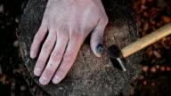Aufgeschürfte finger