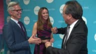 Bryan Rafanelli Kerry Swords and YoYo Ma at UNICEF Children's Chamption Award Dinner Honoring YoYo Ma and Ally and Bill Achtmeyer at The Castle at...