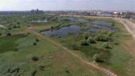 Bucharest Wild Wetland Aerial