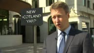 Police reveal suspect had a fourfoot sword New Scotland Yard DAY Commander Dean Haydon interview SOT