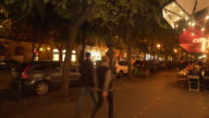 Budapest Andrássy Út Street Scene At Night